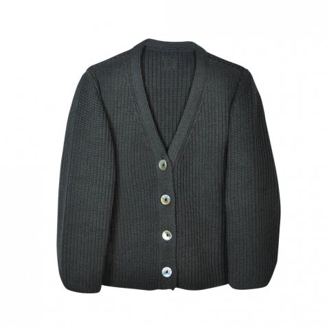 【MORE SALE 40%OFF】LEO Cardigan Carbone