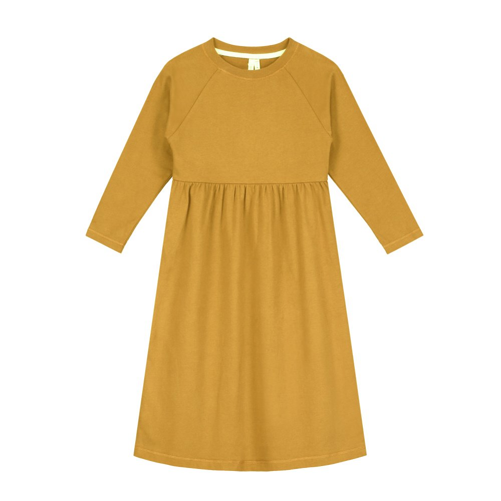 【50%OFF】L/S Long Dress Mustard img