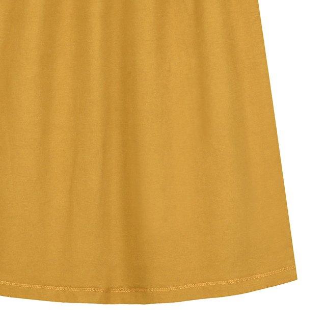 【50%OFF】L/S Long Dress Mustard img2