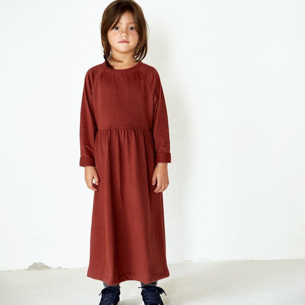 【50%OFF】L/S Long Dress Mustard img3
