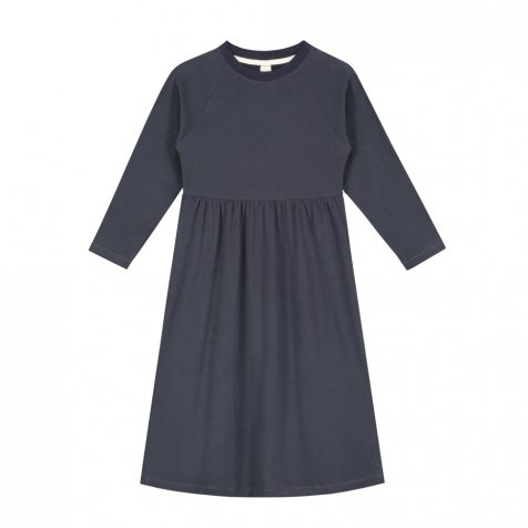 【SALE 30%OFF】L/S Long Dress Night Blue