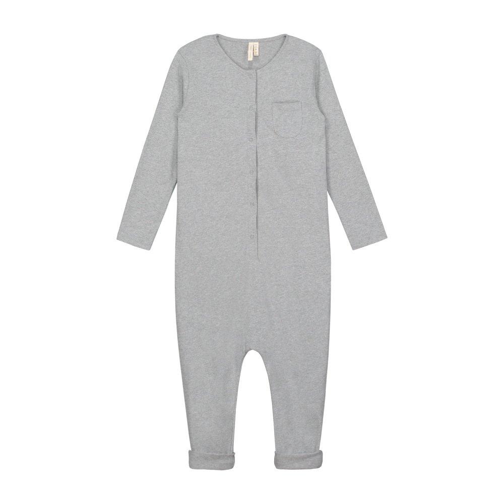 L/S Playsuit Grey Melange img