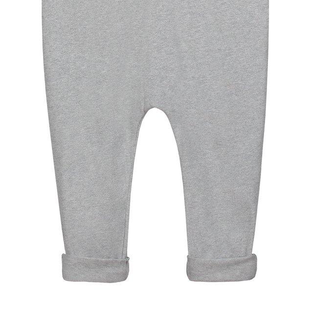 L/S Playsuit Grey Melange img2