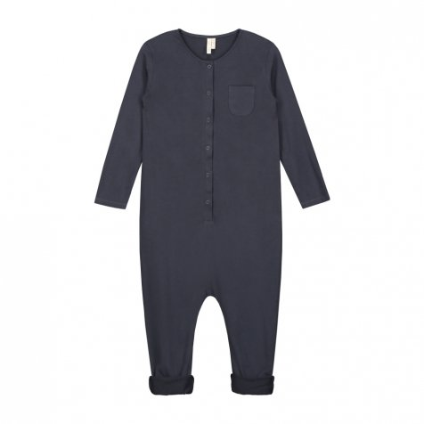 L/S Playsuit Night Blue