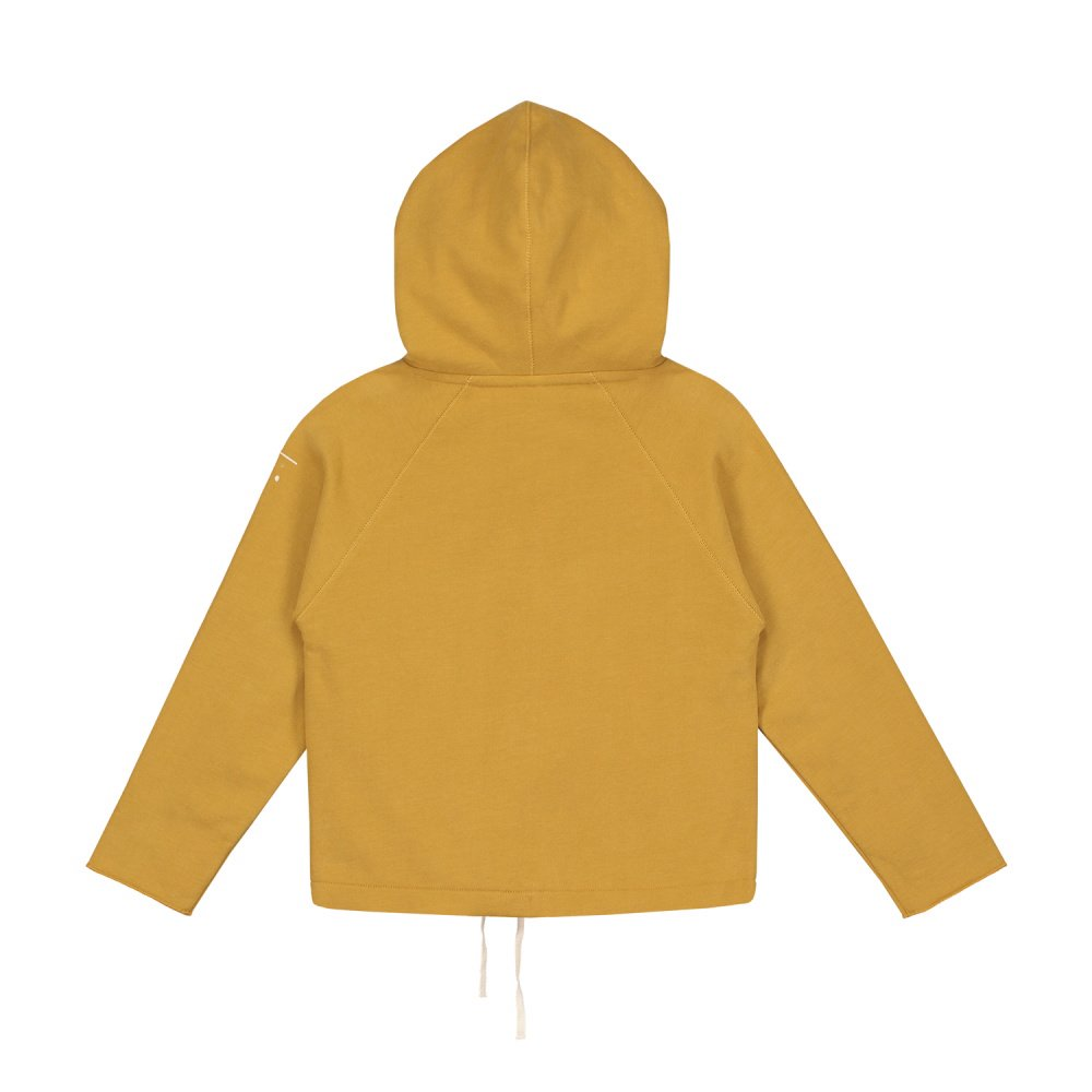 【SALE 30%OFF】Hooded Cardigan w/Snaps Mustard img3