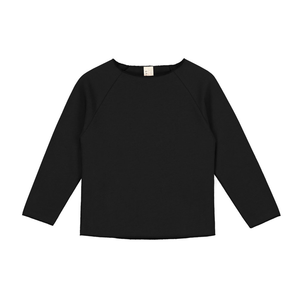 Ribless Sweater Nearly Black img