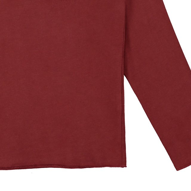 L/S Pocket Tee Burgundy img2