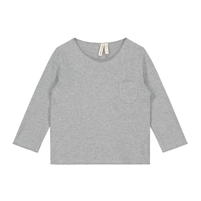 L/S Pocket Tee Grey Melange img