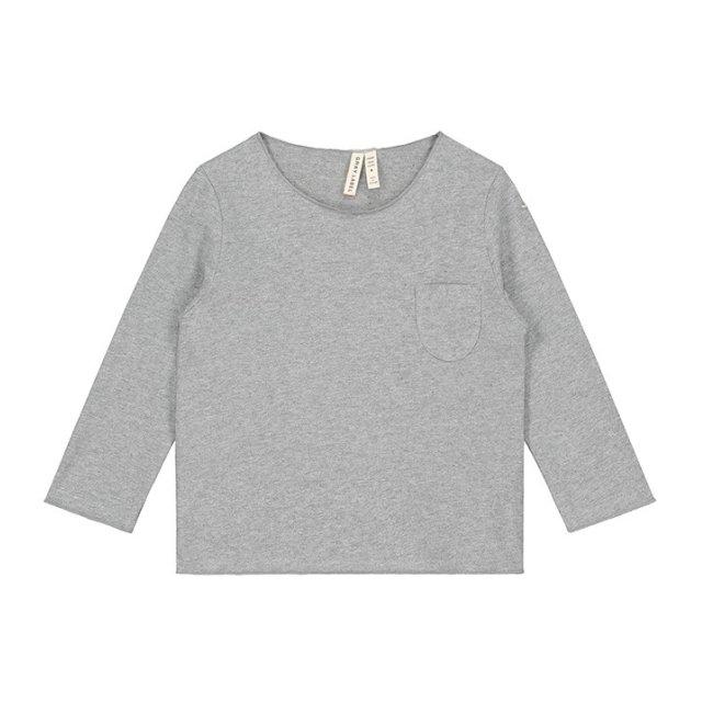 【40%OFF】L/S Pocket Tee Grey Melange img
