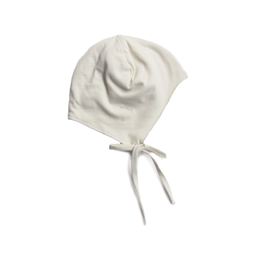 GRAY LABEL Baby Hat with Strings Cream img