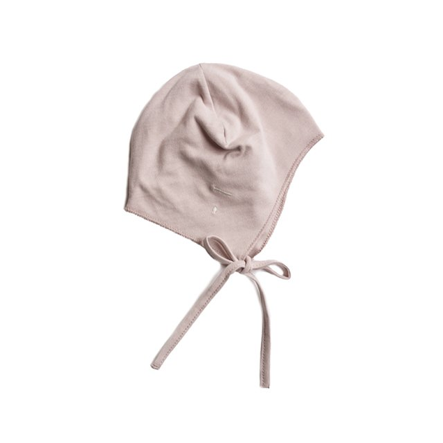 GRAY LABEL Baby Hat with Strings Vintage Pink img