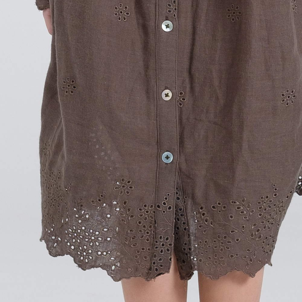 【MORE SALE 40%OFF】alice dress eyelet img3