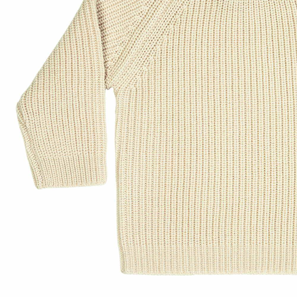 【MORE SALE 40%OFF】4517 AW Baby Sweater Rib ecru img2