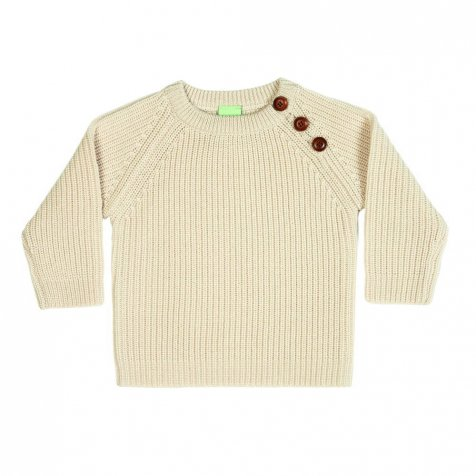 【MORE SALE 40%OFF】4517 AW Baby Sweater Rib ecru
