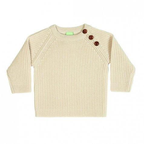 【MORE SALE 40%OFF】4517 AW Baby Sweater Rib ecru