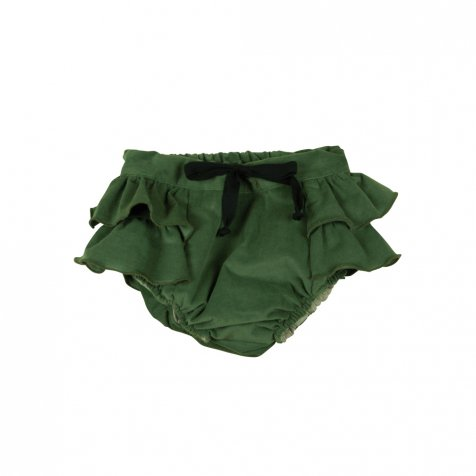 【MORE SALE 40%OFF】Green culotte with frill