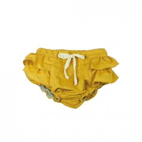 【SALE 30%OFF】Ochre culotte with frill