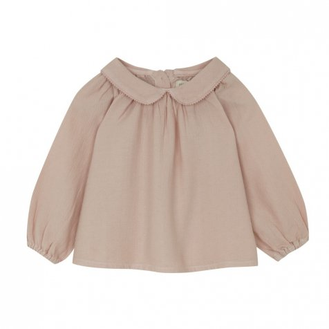 【SALE 30%OFF】COLLAR BLOUSE Pink grey