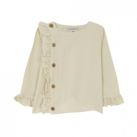 【SALE 30%OFF】WOOL BLOUSE Natural