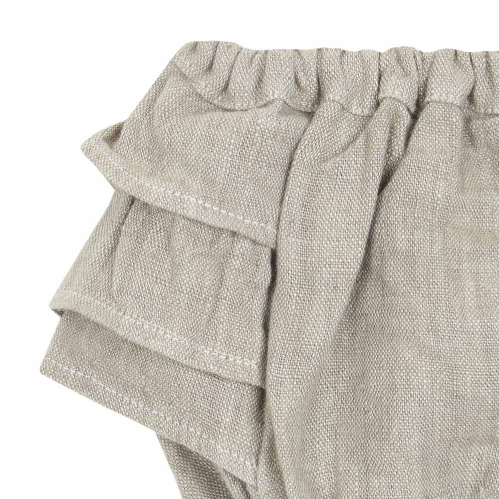 【MORE SALE 40%OFF】FOLKLORE BLOOMER Green beige img1