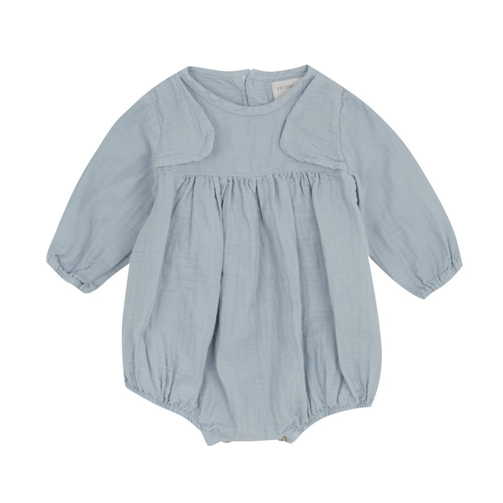 【SALE 30%OFF】VEST JUMPER Blue img