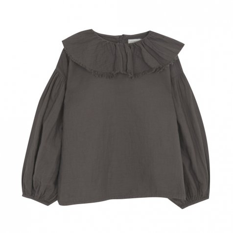 【MORE SALE 40%OFF】FLOUNCED BLOUSE Coffee