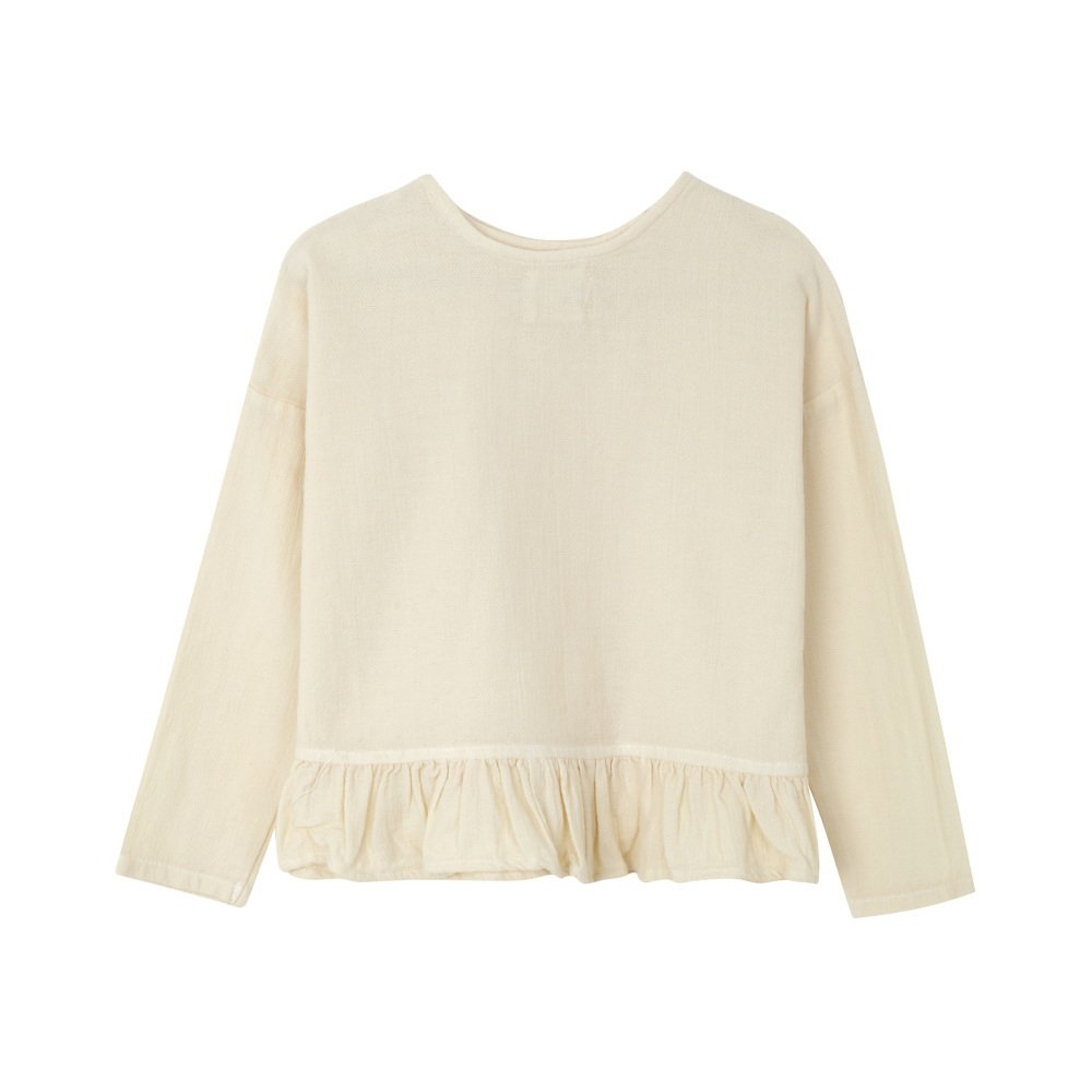 【SALE 30%OFF】FOLK CROSS BLOUSE Natural img