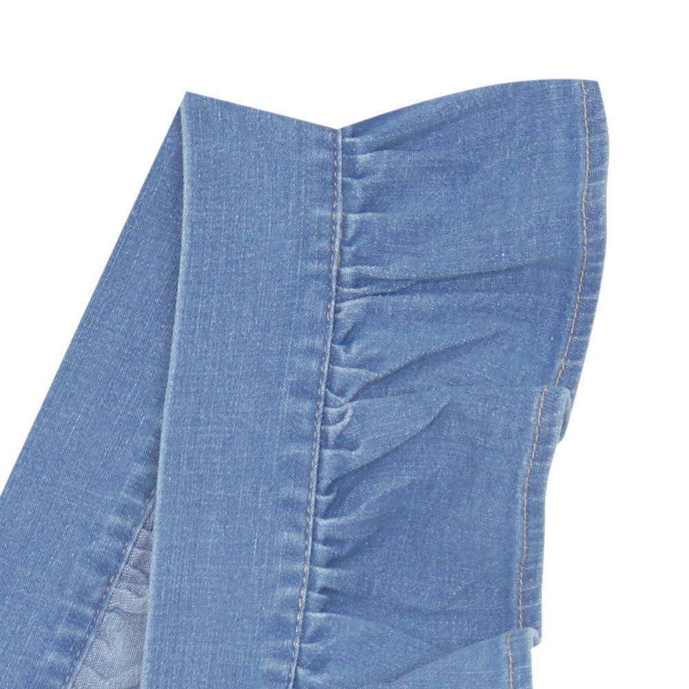 【MORE SALE 40%OFF】FOLK CULOTTE Washed denim img1