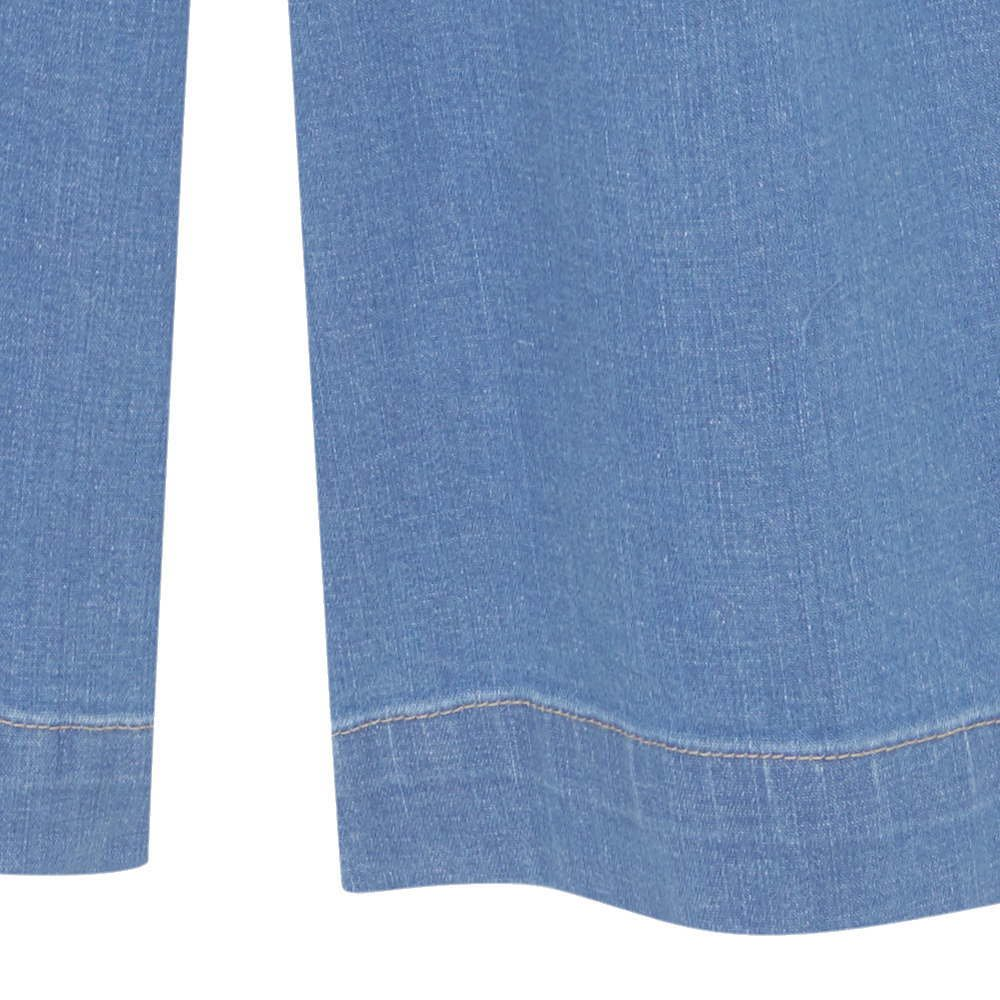 【MORE SALE 40%OFF】FOLK CULOTTE Washed denim img3