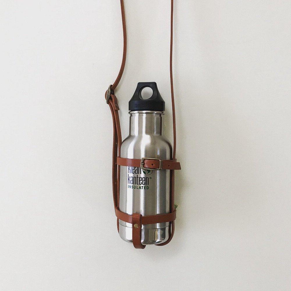 leather bottle strap for klean kanteen / regular レザーボトルストラップ img