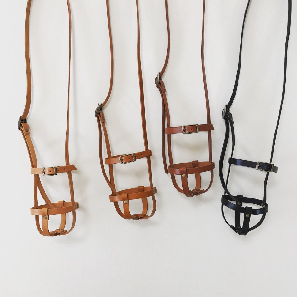leather bottle strap for klean kanteen / regular レザーボトルストラップ img1