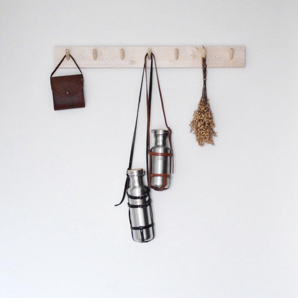 leather bottle strap for klean kanteen / regular レザーボトルストラップ img7