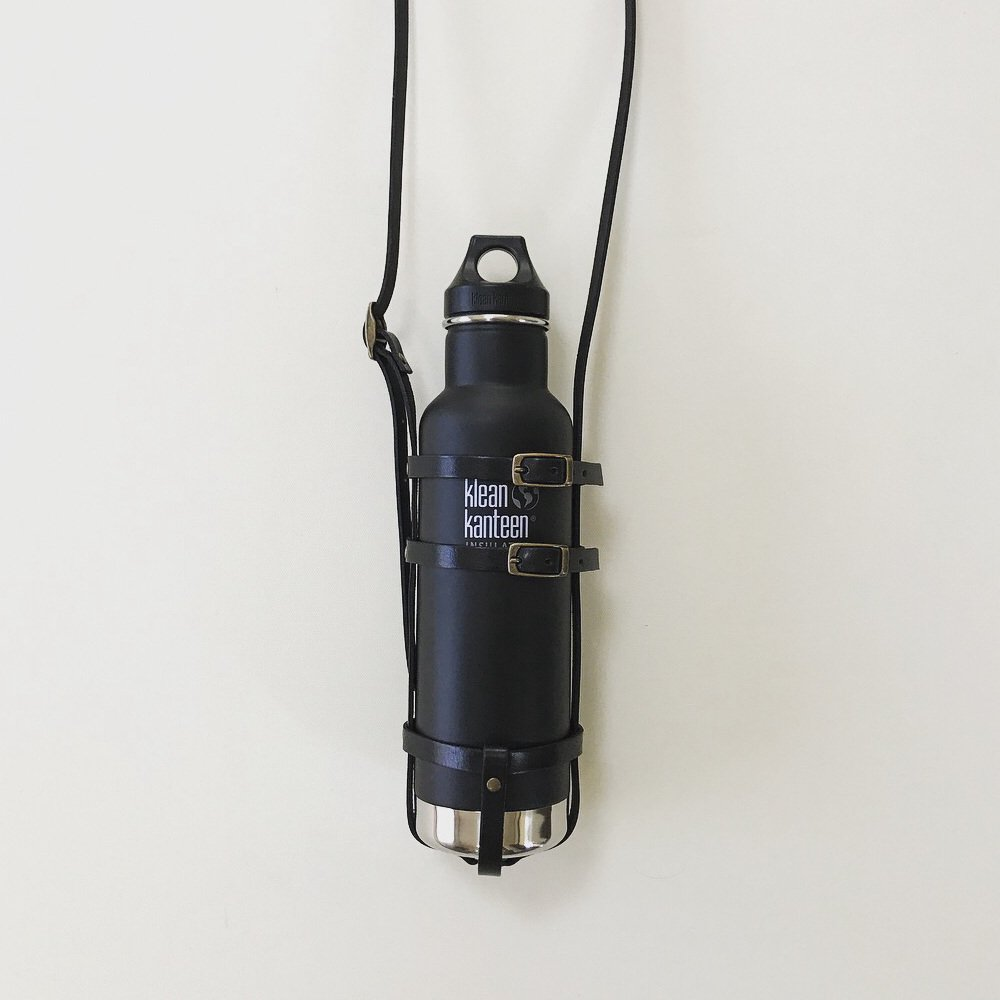 leather bottle strap for klean kanteen / long レザーボトルストラップ img