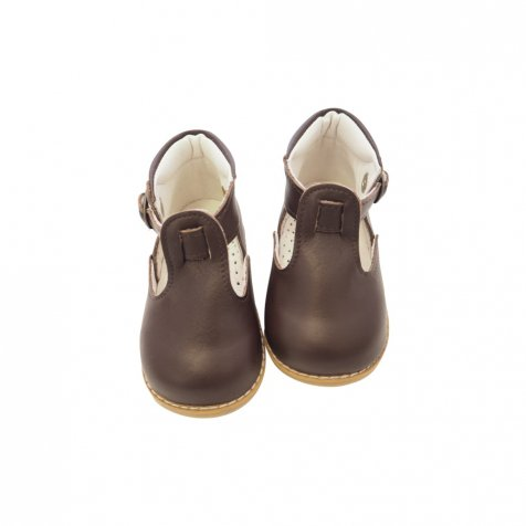 Baby T-Strap DARK BROWN
