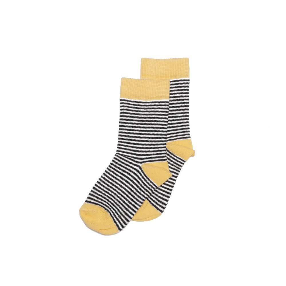 【SALE 30%OFF】Sock striped and ocher img