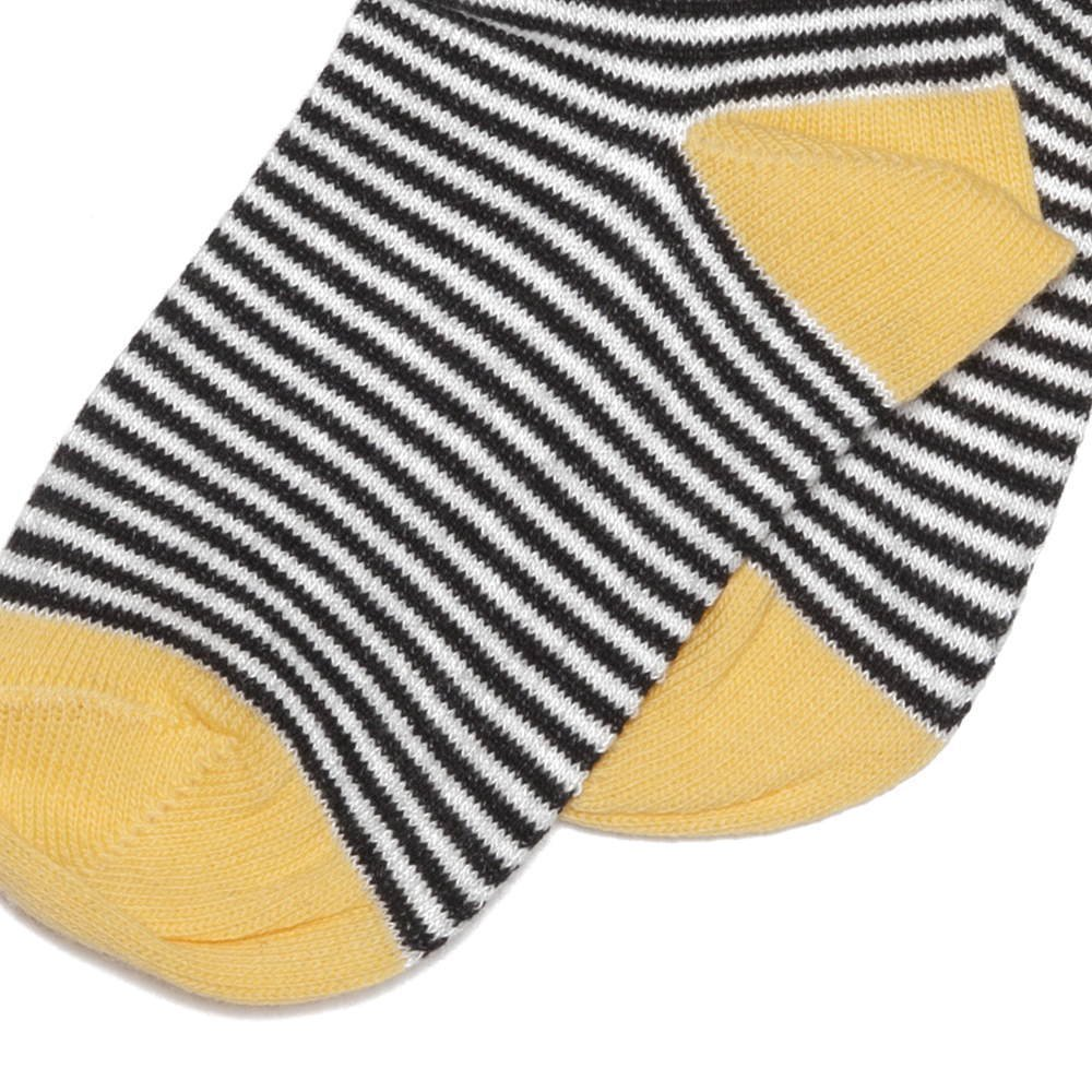 【SALE 30%OFF】Sock striped and ocher img2