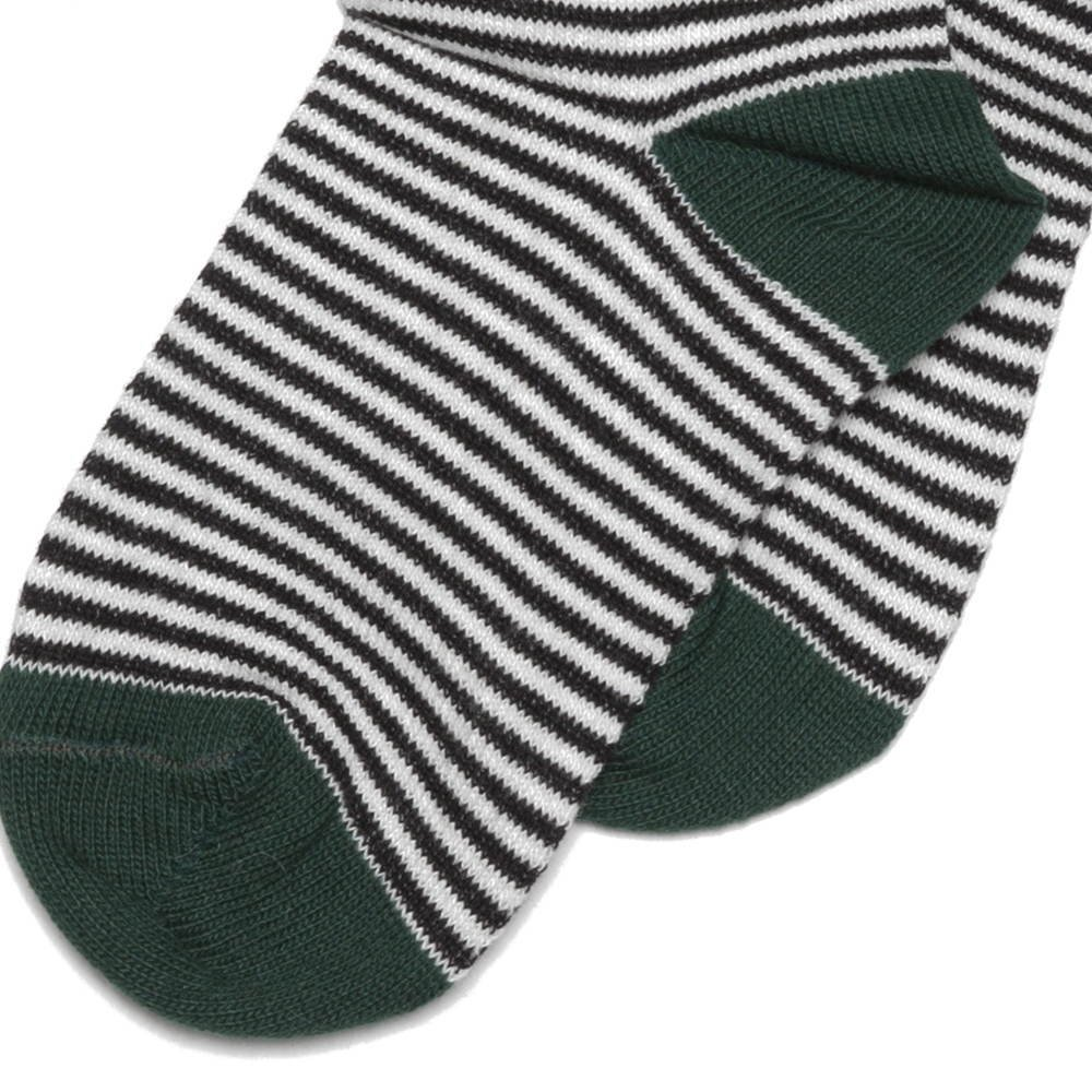 【WINTER SALE 50%OFF】Sock striped and emerald img2