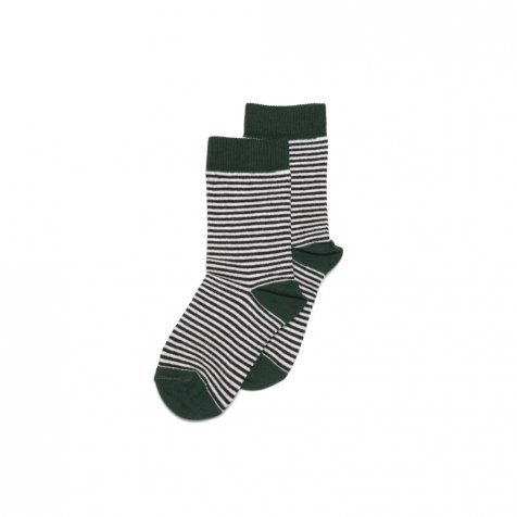 【SALE 30%OFF】Sock striped and emerald