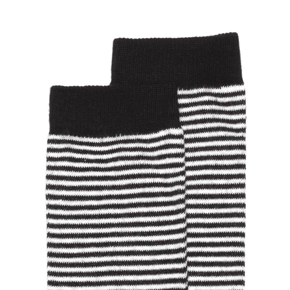 【SALE 30%OFF】Knee sock b/w striped img1