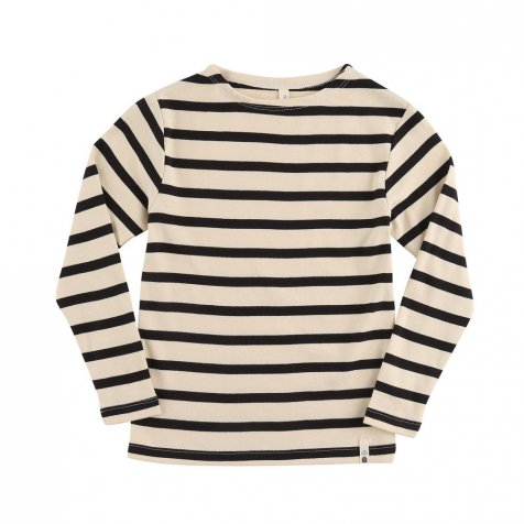 TEE LS STRIPE / OFF NAVY