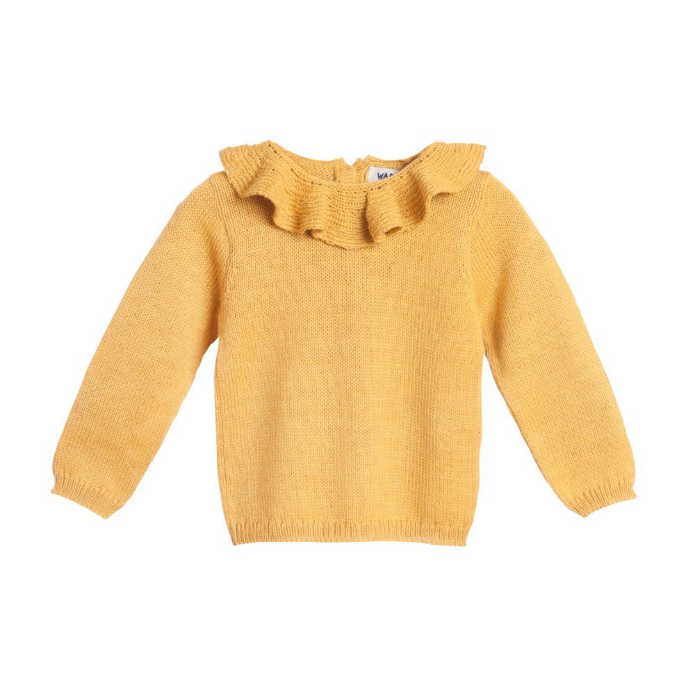 【MORE SALE 40%OFF】Pierrot jumper yellow img