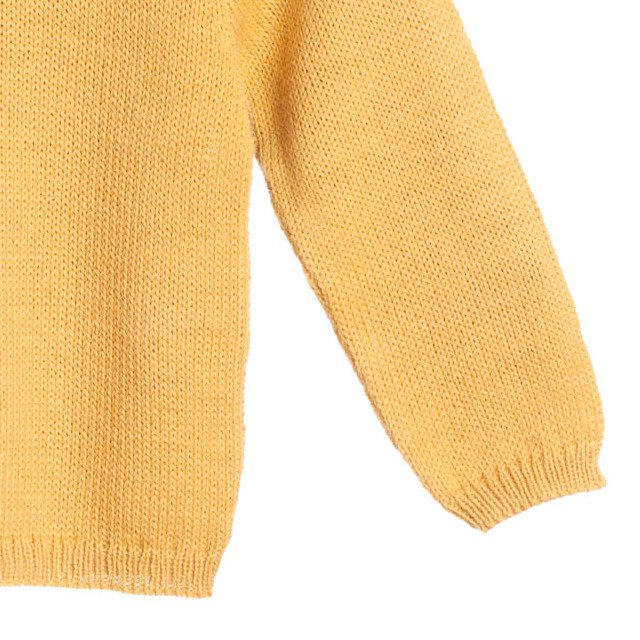 【MORE SALE 40%OFF】Pierrot jumper yellow img2
