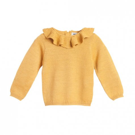 【MORE SALE 40%OFF】Pierrot jumper yellow