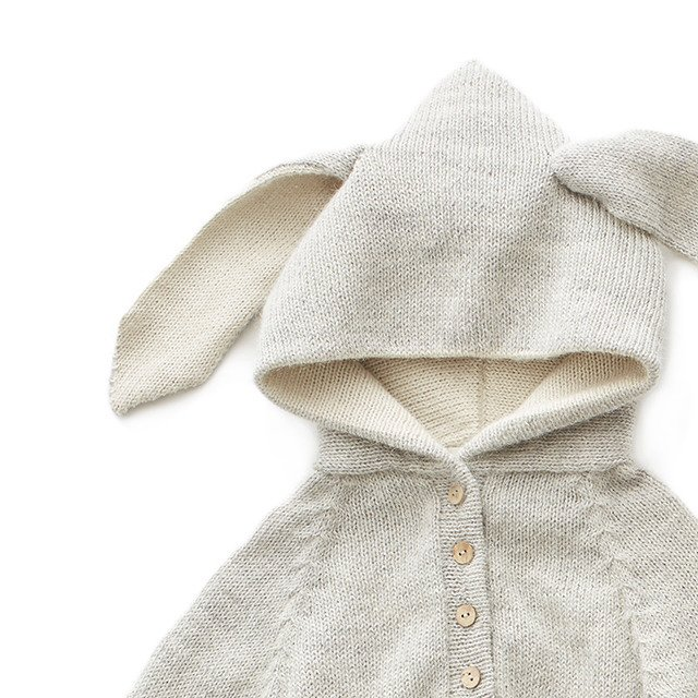 【MORE SALE 40%OFF】Animal Hooded Jumper rabbit img1