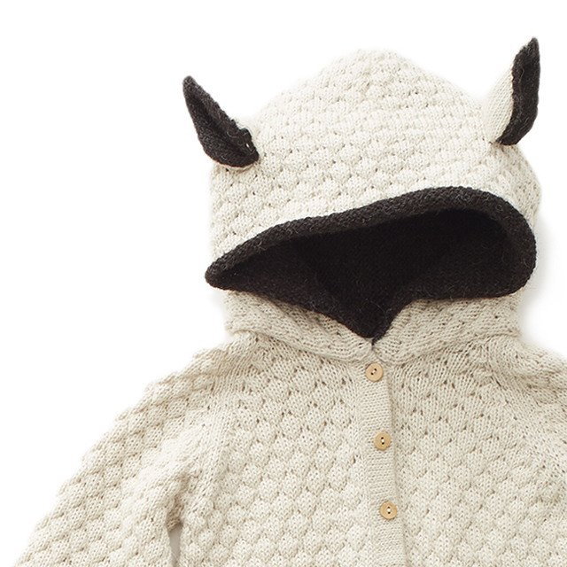 Animal Hooded Jumper sheep img1