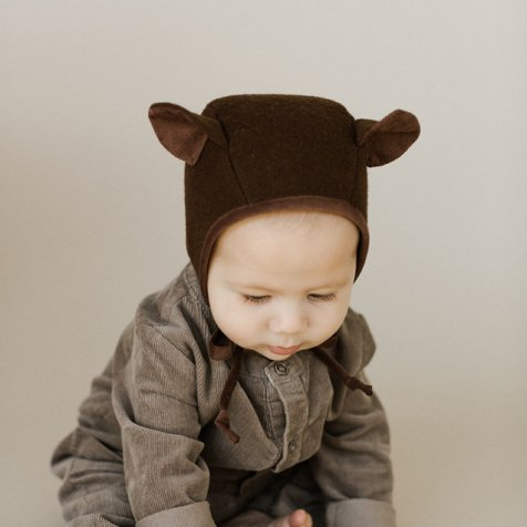 Animal Bonnet Brown Bear