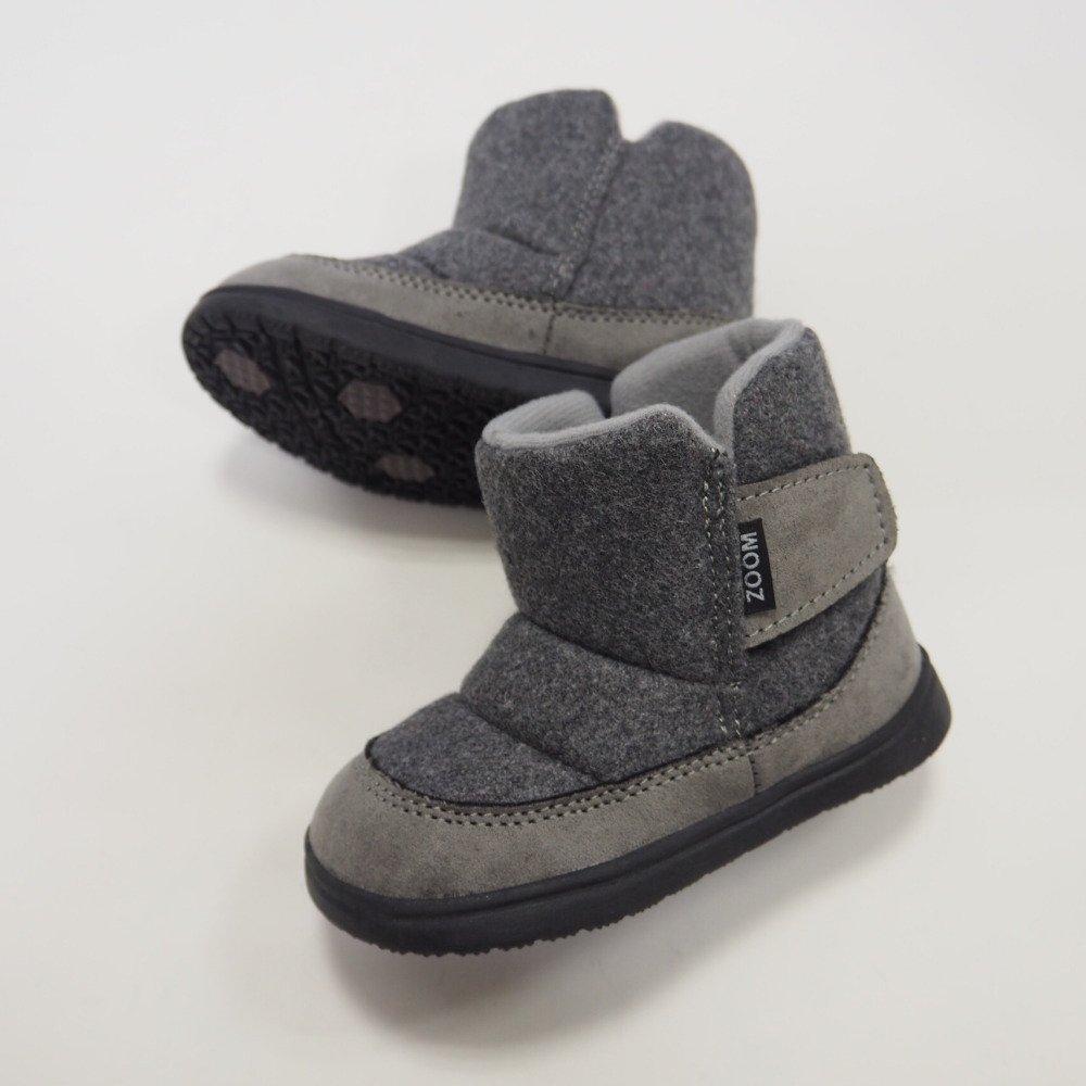 【MORE SALE 40%OFF】Vercro Boots GRAY img1