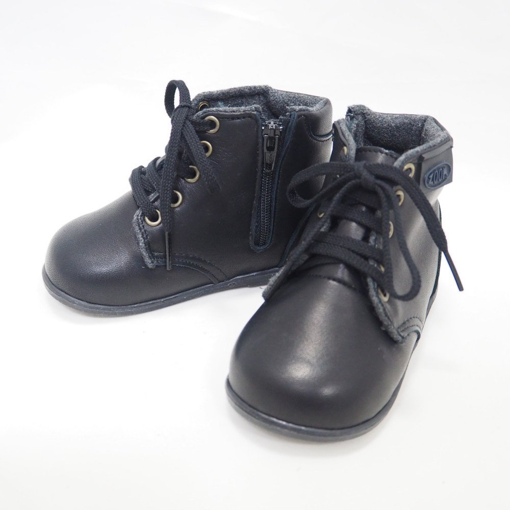 Lace up Boots BLACK img1
