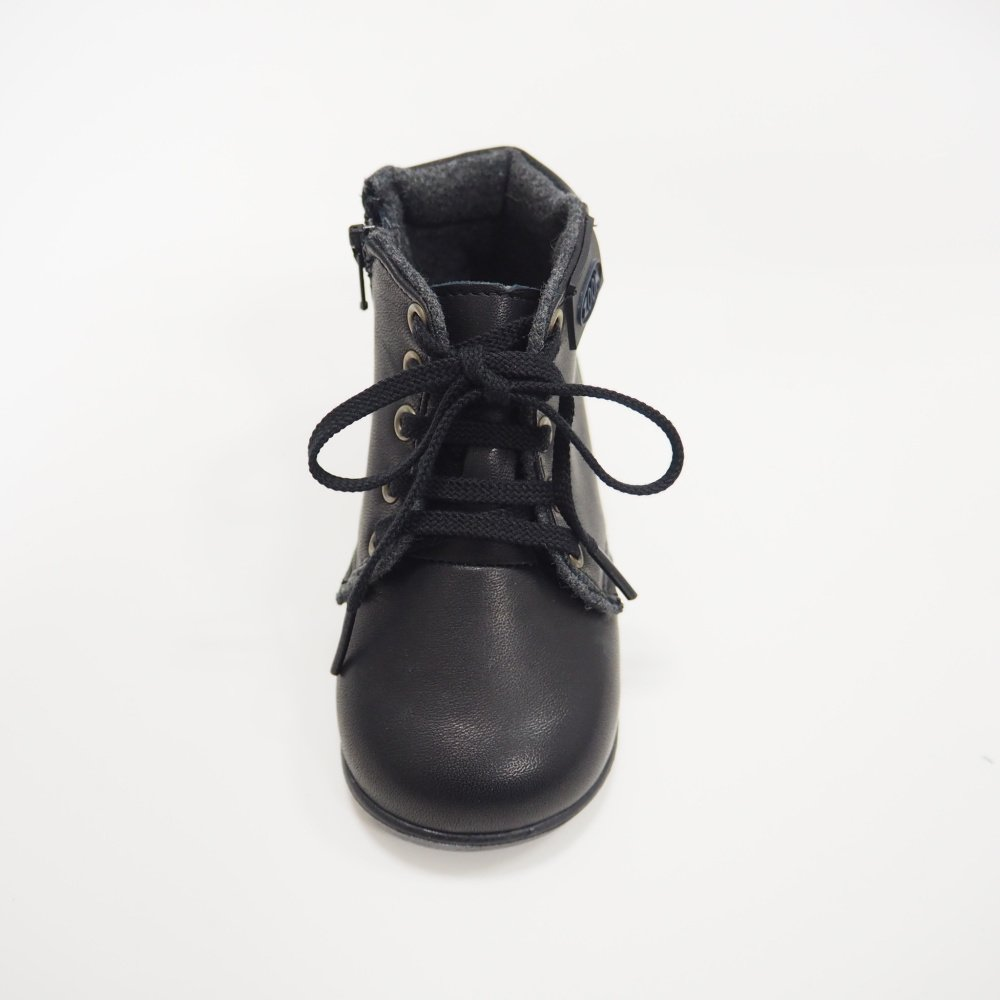 【MORE SALE 40%OFF】Lace up Boots BLACK img2