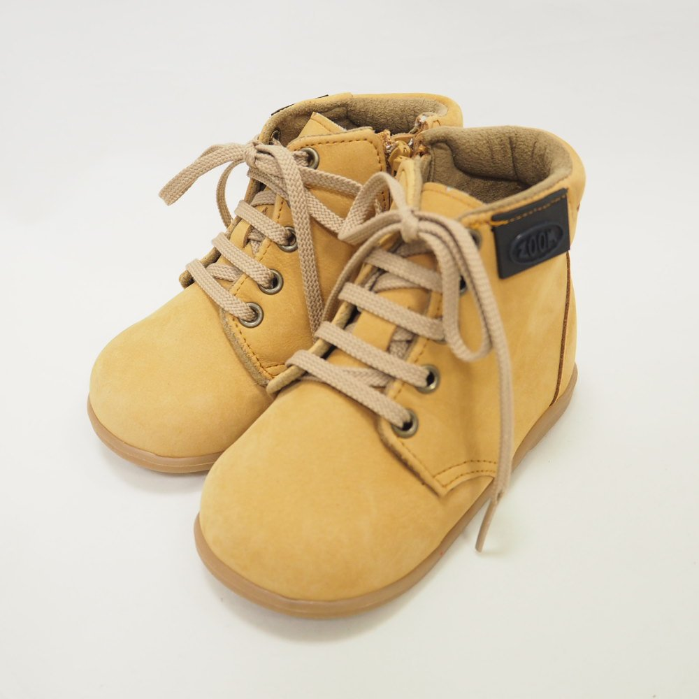 【WINTER SALE 50%OFF】Lace up Boots CAMEL img1
